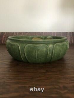 Grueby Pottery Matte Green Arts & Crafts Bowl