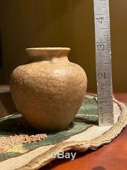 Grueby Pottery Vase Massachusetts Arts & Crafts Matte Glaze