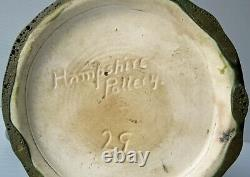 HAMPSHIRE POTTERY MATTE GREEN CANDLE STICK Arts and Crafts