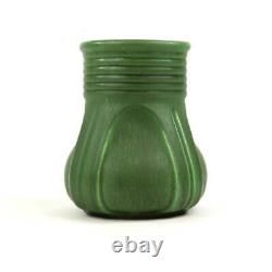Hampshire Pottery Arts And Crafts Matte Green Vase