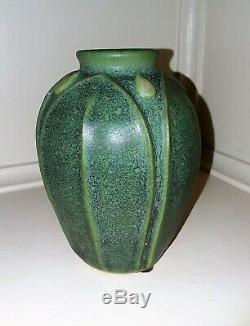 Jemerick Pottery Grueby Style Arts & Crafts Vase Arts and Clay Company