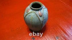 Jemerick Pottery Vase, Arts & Crafts MISSION GRUEBY Style, Steve Frederick