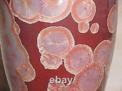 John Mankameyer Manka Crystalline Glaze Studio Pottery Vase Arts Craft Porcelain