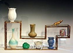 Jugtown Flambe North Carolina Chinese Jun Vase Vintage Pottery Arts & Crafts