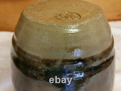 Jugtown Ware Early Pottery 4 Handle Vase North Carolina Art & Craft brown/green