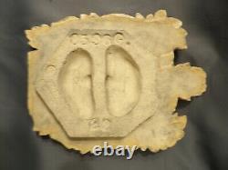 Large Rookwood Faience Tile 12 Heraldic Crest Spanish Revival Tudor Arts Crafts