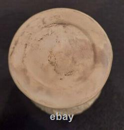 Louis Comfort Tiffany Pottery Favrile 5 3/4 Vase Signed 1904-1910 Arts & Crafts