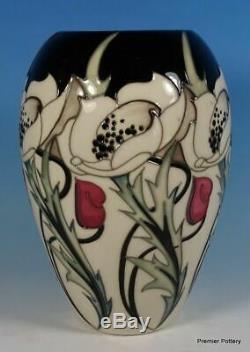 MOORCROFT TALWIN Arts & Crafts 7 Vase 102/7 by Nicola Slaney RRP £300