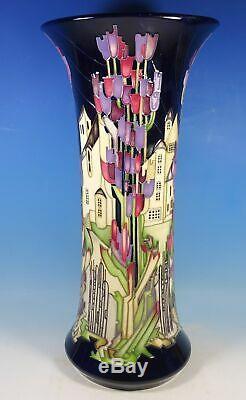 MOORCROFT Town of Flowers 159/18 Arts & Crafts Large Prestige 18 Vase RRP £3665