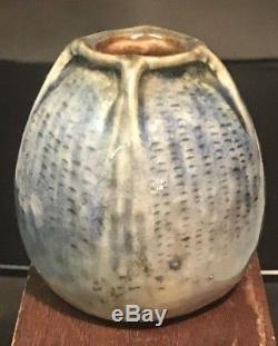 Martin Brothers Mini Vase 1907 Arts & Crafts Newcomb Tiffany Teco Stickley Era