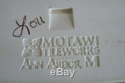 Motawi Art Tile Riverscape 4 X 12 Arts & Crafts Mint