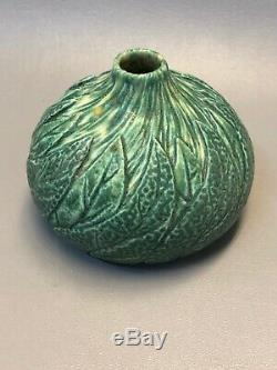 NEWARTPOTTERY matt green bud vase TIM EBERHARDT STUDIO arts and crafts
