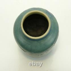 Newcomb College Pottery 8 moon moss tree scenic landscape vase Arts & Crafts