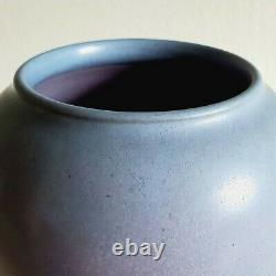Orig Marblehead Pottery Vase Arts & Crafts C. 1925 Lavender (Grueby Fulper era)