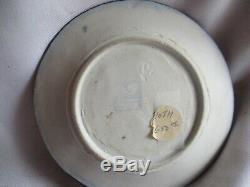 RARE, Early & Mint Dedham Pottery Arts & Crafts era MOTH plate VERY NICE