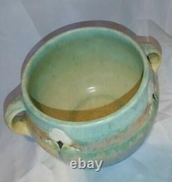 ROSEVILLE MONTICELLO Pottery Green Glaze 559-5 ARTS & CRAFTS