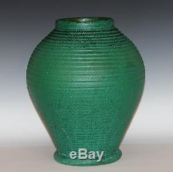 Radford W VA Antique Arts & Crafts Matt Green Art Pottery NC Planter Southern