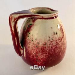 Rare Antique Arts And Crafts Ruskin Pottery High Fired Jug William Howson Taylor