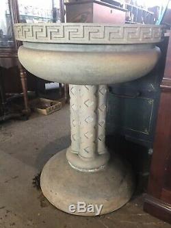 Rare TECO American Arts And Crafts Architectural Three Piece Fountain