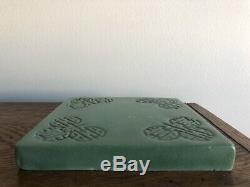 Rare Teco Arts & Crafts Pottery Tile Trivet