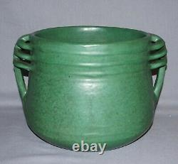 Rare Weller Arts & Crafts Matte Green Art Pottery Jardiniere