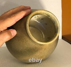 Red Wing Nokomis Arts and Crafts Vase Mint