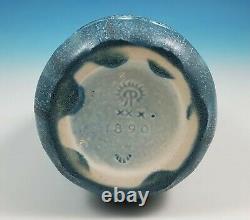 Rookwood Art Pottery 1930 Arts Craft Swan Vase 1890 Mottled Blue Glaze Sarah Sax