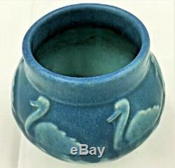 Rookwood Art Pottery Arts & Crafts Swans Vase 1921 #2097