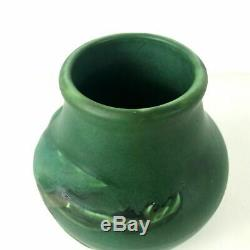 Rookwood Arts & Craft Carved Seagull Matte Green Signed Toohey