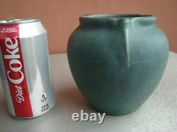 Rookwood Arts & Crafts Carved Matte Green/Blue 5 Dragonfly Pot 1908 Cecil Duell