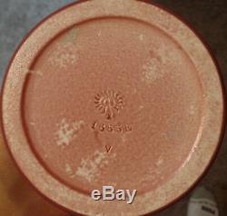 Rookwood Arts and Crafts Vase Incised Design 1910 MINT