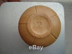 Rookwood Hand Incised 7.5 Matte Leaf & Flower Arts & Crafts Vase 1912