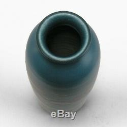Rookwood Pottery 10 blue green wax matte red poppy vase 1926 Arts & Crafts SEC
