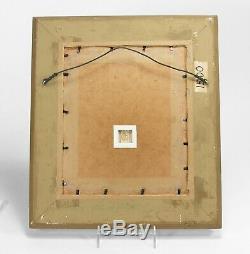 Rookwood Pottery 1895 standard glaze 8x10 lemon branch plaque arts & crafts