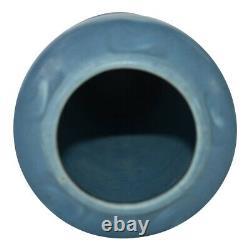 Rookwood Pottery 1929 Matte Blue Arts And Crafts Vase 2112