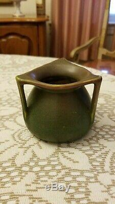 Rookwood Pottery 3 1/2 Arts & Craft 3 Handled Vase # 354 1914
