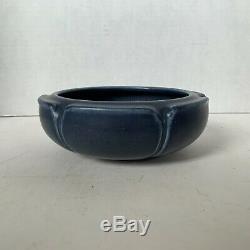 Rookwood Pottery Arts & Crafts Bowl 1920 #2134 Blue