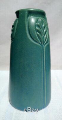 Rookwood Pottery, Arts & Crafts Buttressed Design, Stemmed Buds Vase, Rare Form