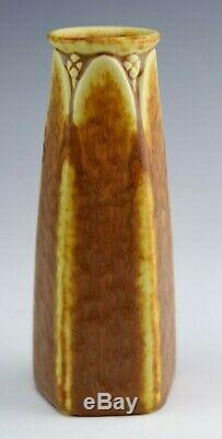 Rookwood Pottery Arts & Crafts Ochre On Yellow Vase-dated 1925 #2814