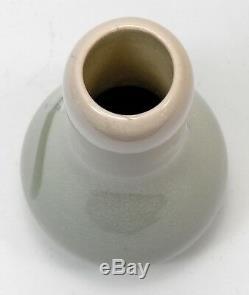Rookwood Pottery Caroline Bonsall 1904 iris glaze snow drops vase arts & crafts