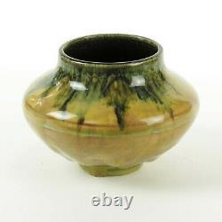 Rookwood Pottery Hentschel dripping butterfat porcelain vase arts & crafts 1922