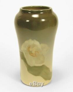 Rookwood Pottery Rothenbush 1902 iris glaze 8.75 tulip vase arts & crafts