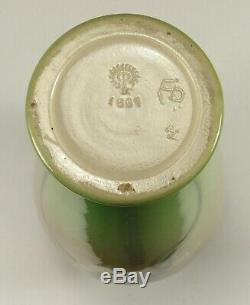 Rookwood Pottery great Ed Diers 1909 iris glaze 10.5 daisy vase arts & crafts