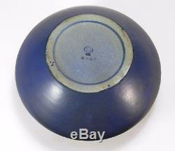 Rookwood Pottery production oak leaf acorn lg vase arts & crafts blue w gunmetal