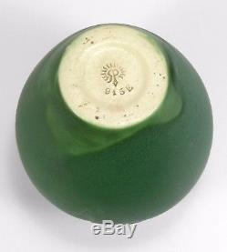 Rookwood Pottery production spiral design arts & crafts matte grueby green 1905