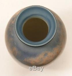 Rookwood Pottery uncrazed scenic vellum landscape vase ETH 1946 arts & crafts