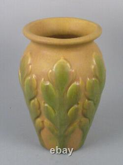 Roseville Art Pottery (Zanesville, Ohio) Early Velmoss Vase Arts and Crafts Rare