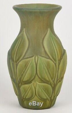 Roseville Early Velmoss 8 Tall Arts And Crafts Vase
