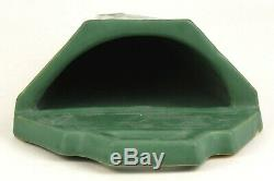Roseville Pottery Arts And Crafts Matte Green 12 Wall Pocket