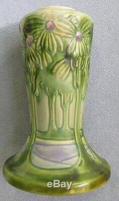 Roseville Pottery Arts & Crafts Large 10 inch Vista or Forest Vase